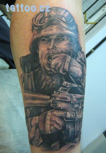 tattoo artist in Black Hawk Images