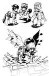 Bastion Ponies Sketchdump!