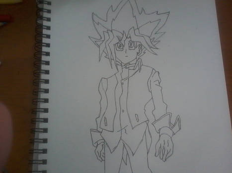 Yugi in his outfit from DSoD Movie.
