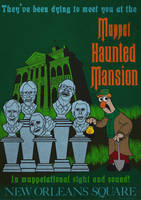 Muppet Haunted Mansion Poster 3