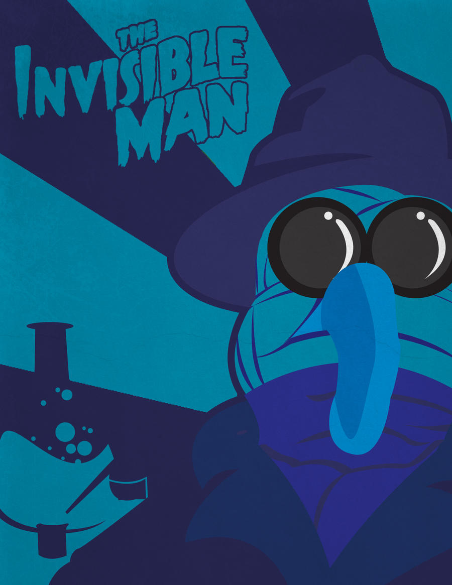 The Invisible Man - Muppet Monsters Poster by Gr8Gonzo on ...
