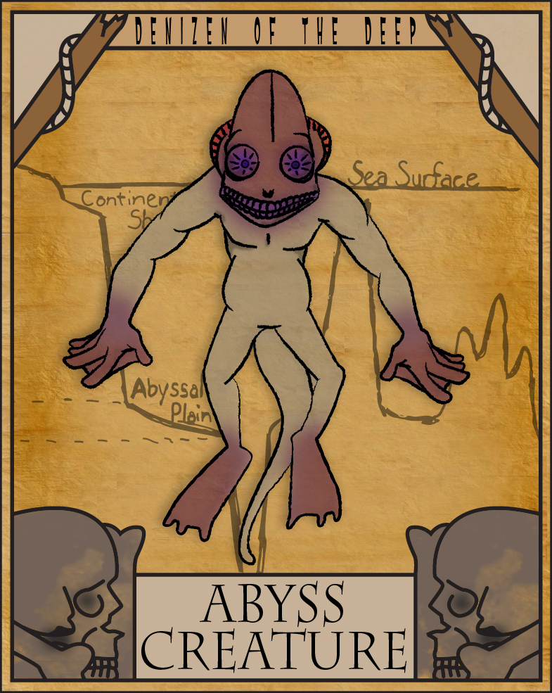 Abyss Creature by Gr8Gonzo