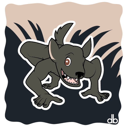 Michigan Dogman Sticker by Gr8Gonzo