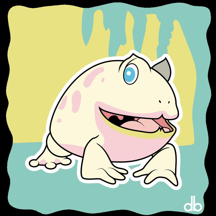 Wuhnan Toad Sticker by Gr8Gonzo