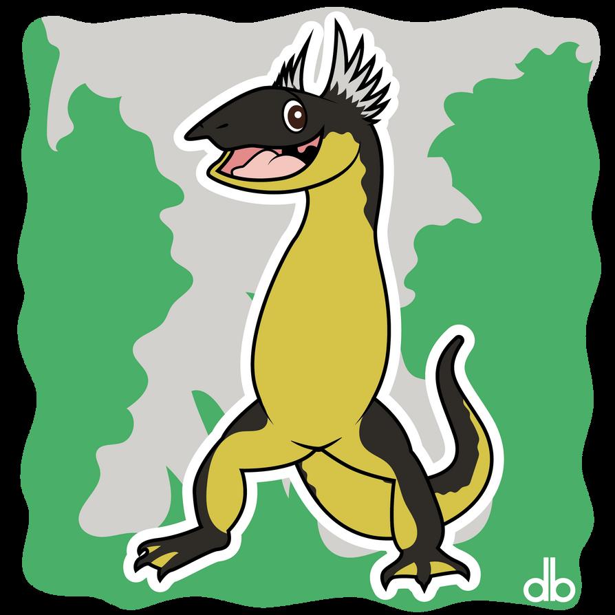 Cumberland Dragon Sticker by Gr8Gonzo