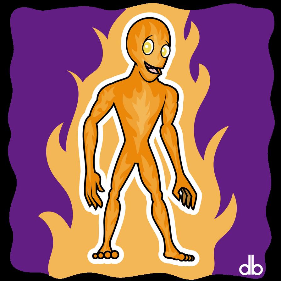 Felixstowe Fire Demon Sticker by Gr8Gonzo