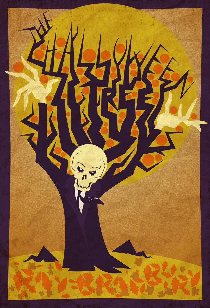 the halloween tree postergr8gonzo on deviantart