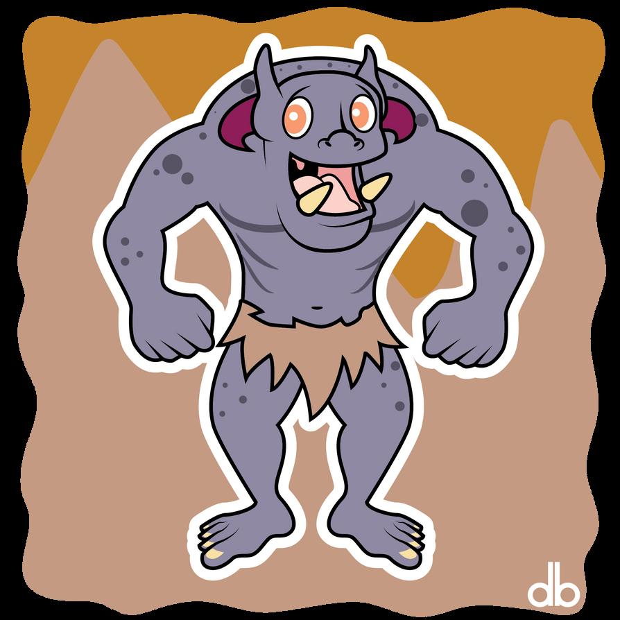 Mogollan Monster Sticker by Gr8Gonzo