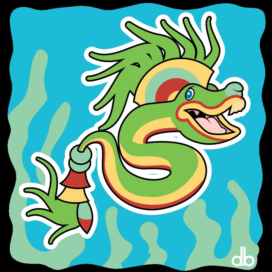 Yacumama Sticker by Gr8Gonzo