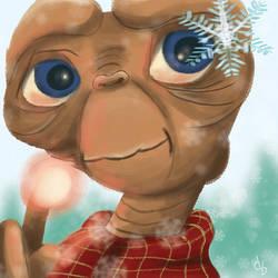 E.T. Explores! First Snowfall