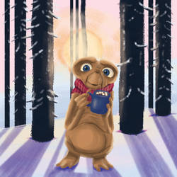 E.T. Explores! Snowfall