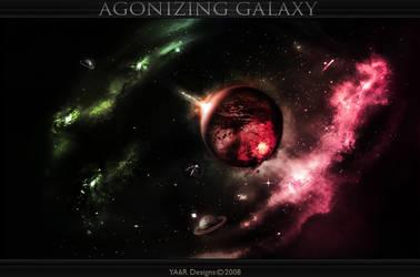 Agonising Galaxy by ya6r