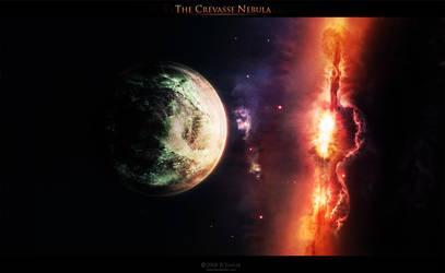 The Crevasse Nebula by ya6r
