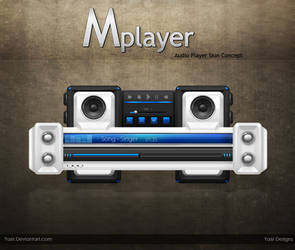 player interface WIP by ya6r