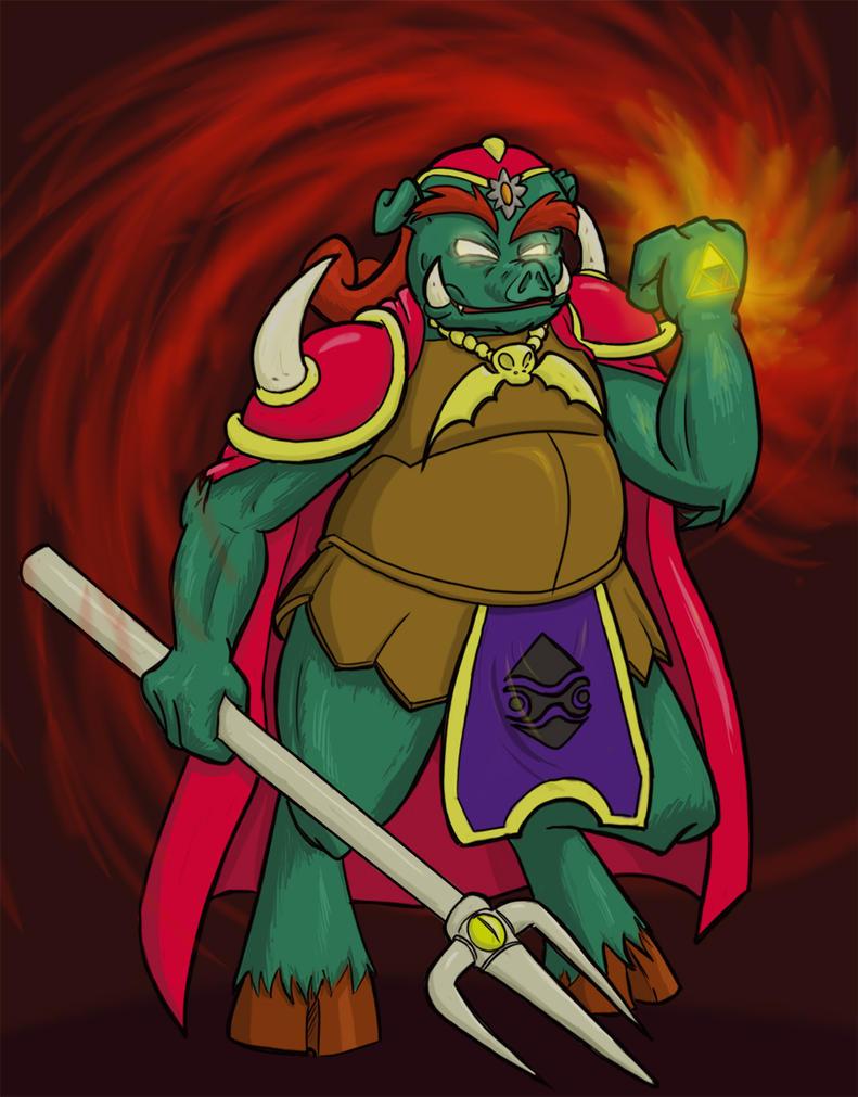 Character Design Challenge Zelda : Character design challenge of march ganon by