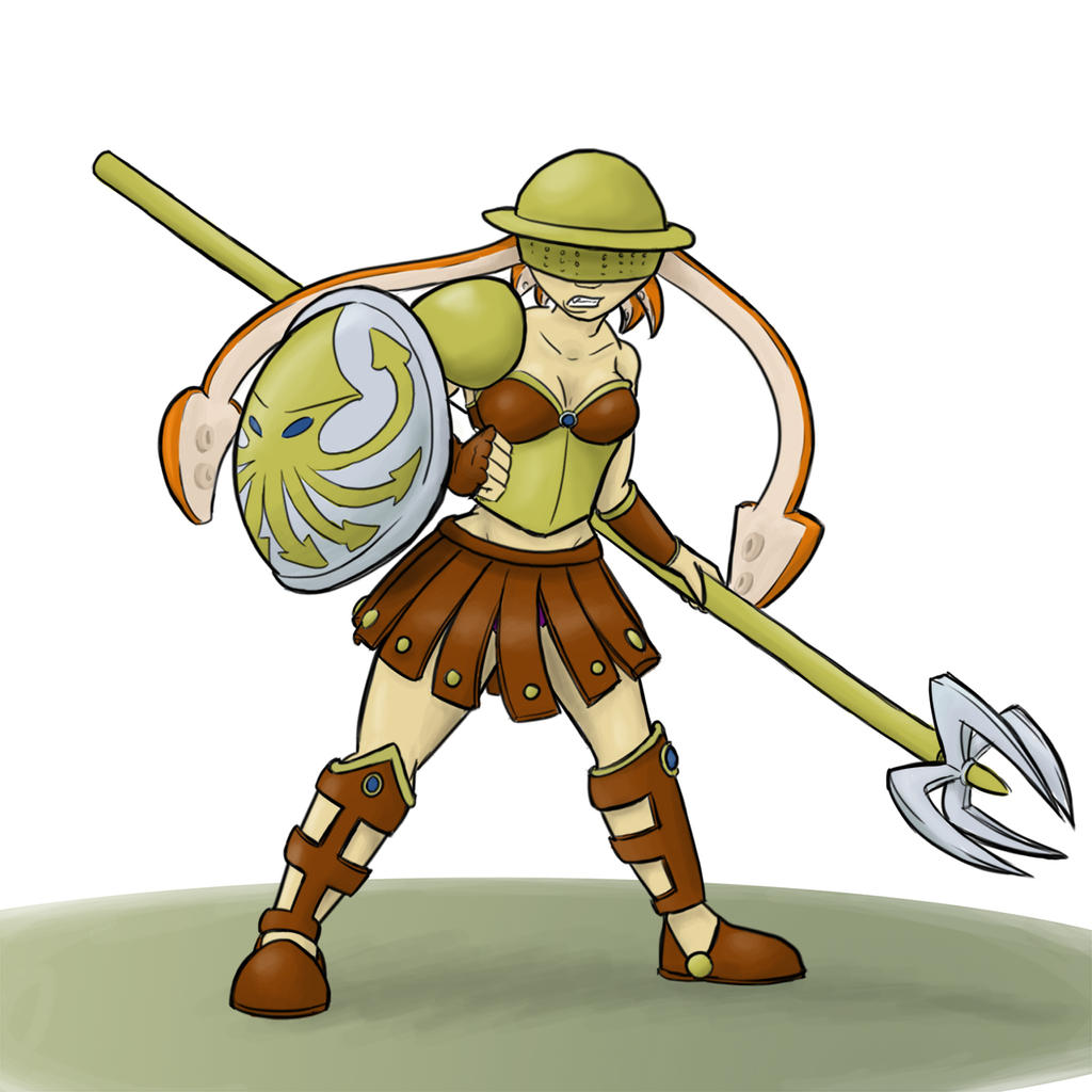 Character Design Challenge Gladiator : Character design gladiator by melnazar on deviantart