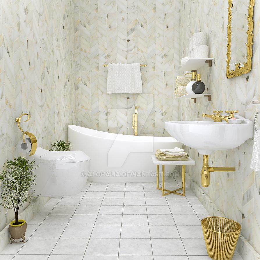 bathroom10 by alghalia