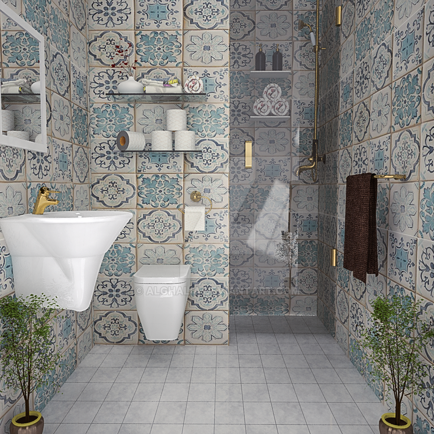 bathroom12 by alghalia