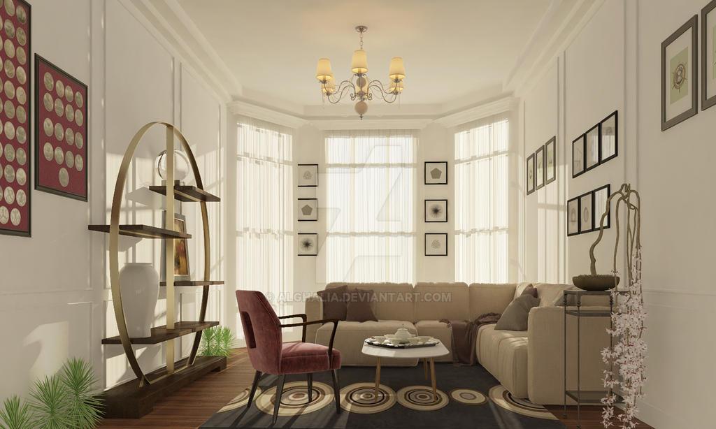 Livingroom by alghalia