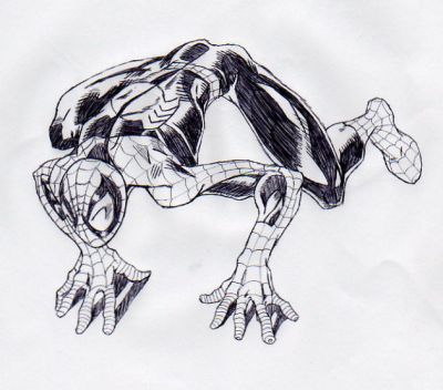 How to Draw Ultimate Spider Man Ultimate Spider Man by Ju5tHow To Draw Ultimate Spider Man