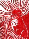 Mujer contra mujer by sebasvieira
