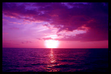 Purple Skies II by kili
