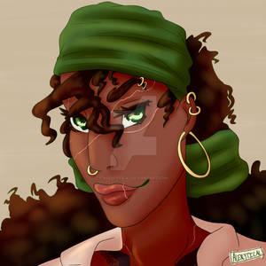 Pirate Mala Headshot