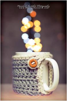 Marion's mug warmer cozy
