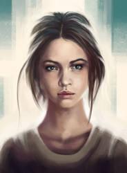 Portrait by dianayarm