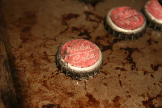 Fallout 3: Nuka-Cola cap close up