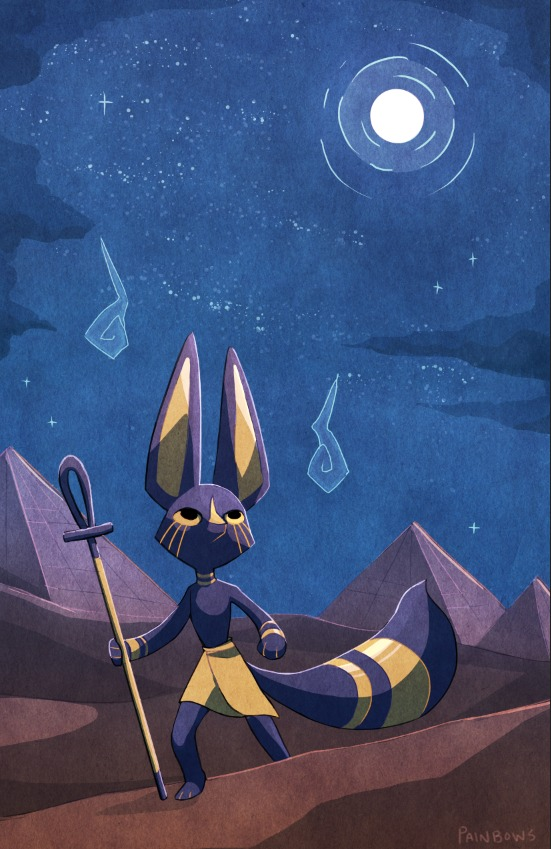 Anubis by StrawberryQuincy