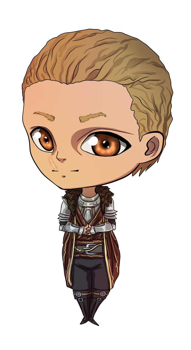 Cullen Chibi by NellyMonster
