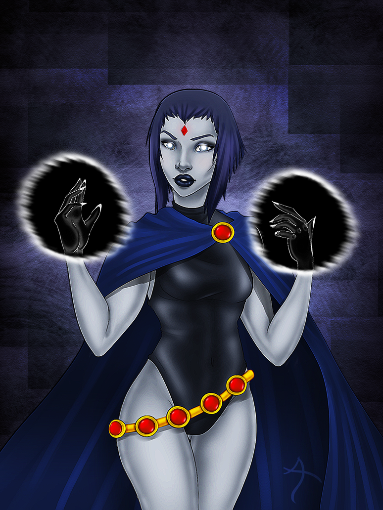 Teen Titans: Raven by NellyMonster