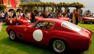 Ferraris at Villa d'Este