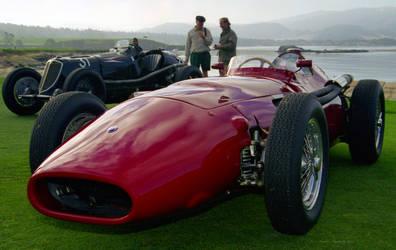 Maserati 250 F by PzlWksMedia