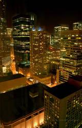 Chicago Night lights B