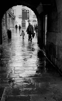 Rain Walkers...Vicenza Italy