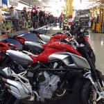 MV Agusta Production Line....Thriving