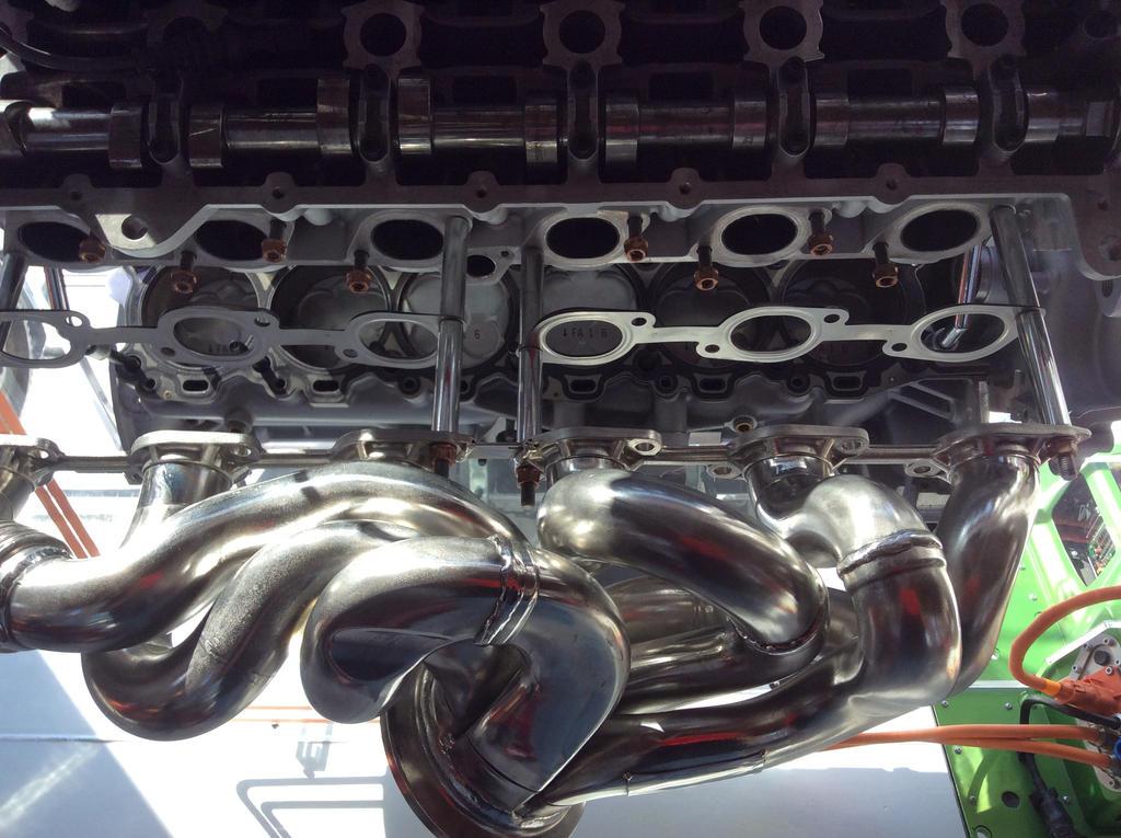 La Ferrari Exhaust Header By Pzlwksmedia