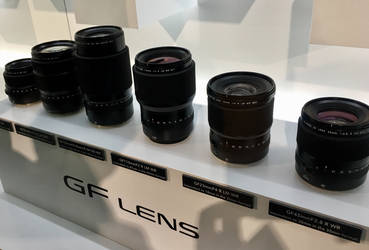 Image GFX lens line for medium Fuji