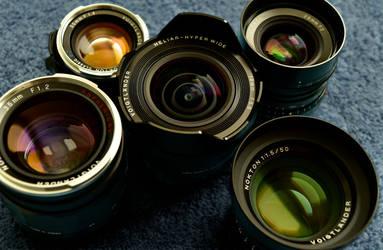 Voigtlander Core Group of Art Lenses