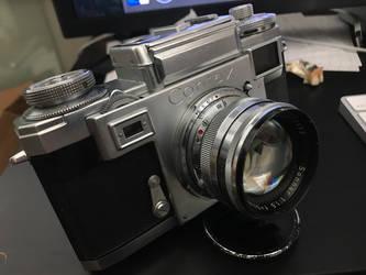 Contax IIIA  Zeizz Sonnar F1.5 50mm