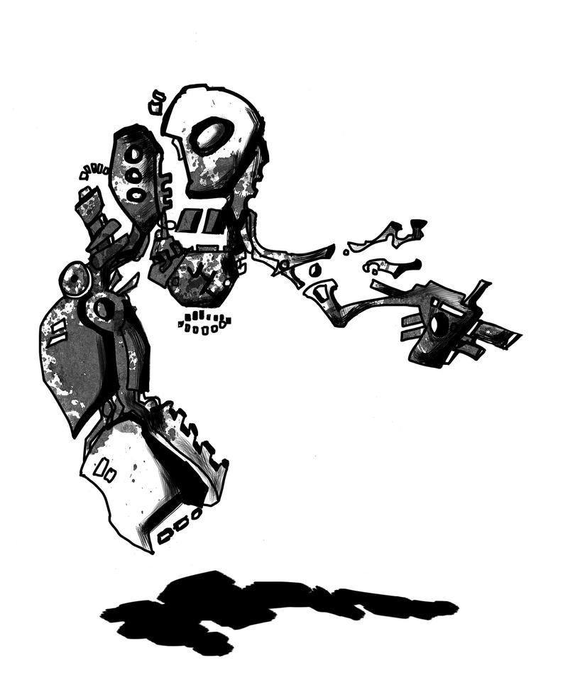 Death Droid by EchoBullet