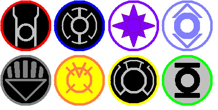 The rings of the 8 Corps by marhawkman