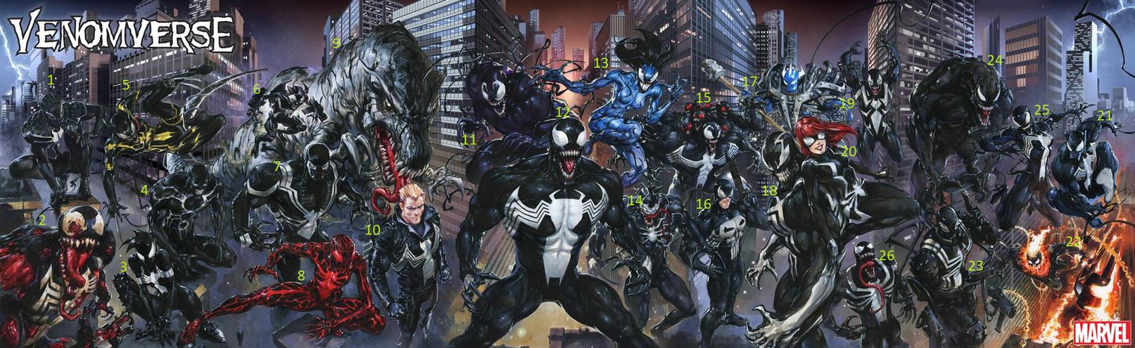 Venomverse by marhawkman