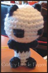 Amigurumi Panda by craftylittlefingers