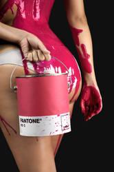 The paint bucket I