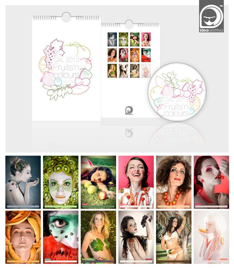 2013 Glamour Calendar - On sale by ideareattiva
