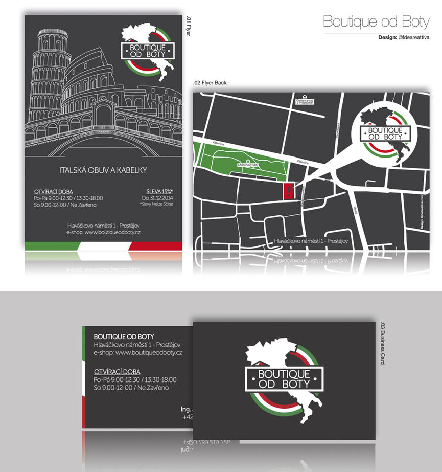 Boutique od boty Identity/02 by ideareattiva