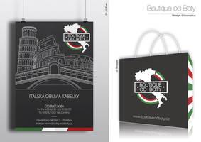 Boutique od boty Identity/01 by ideareattiva